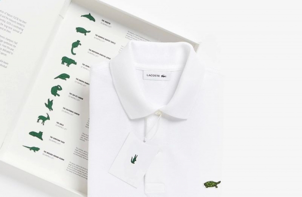 Lacoste edizione limitata save our species